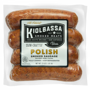 Kiolbassa All Natural Polish Sausage